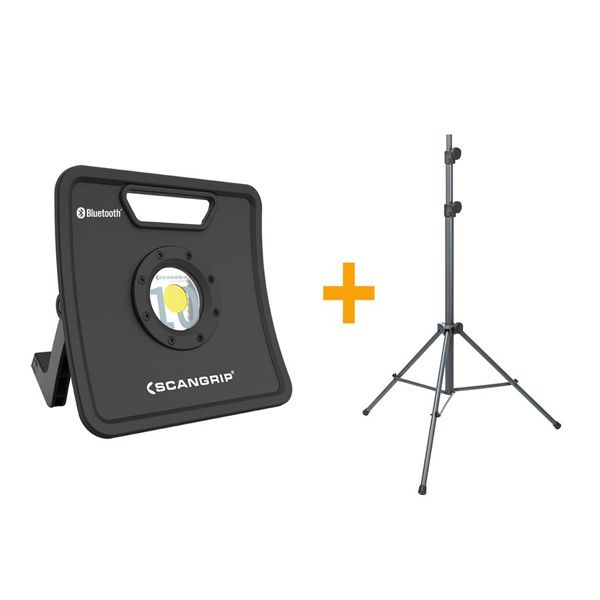 Scangrip Werklampen NOVA + Tripod 3K/5K of 10K